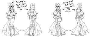 Sailor Umbriel Super and Eternal