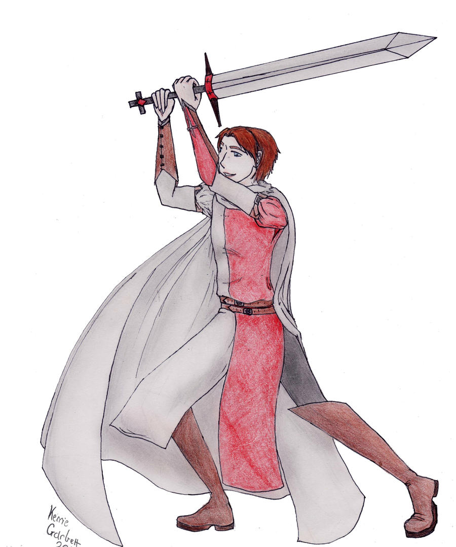 Templar by nikkirock211