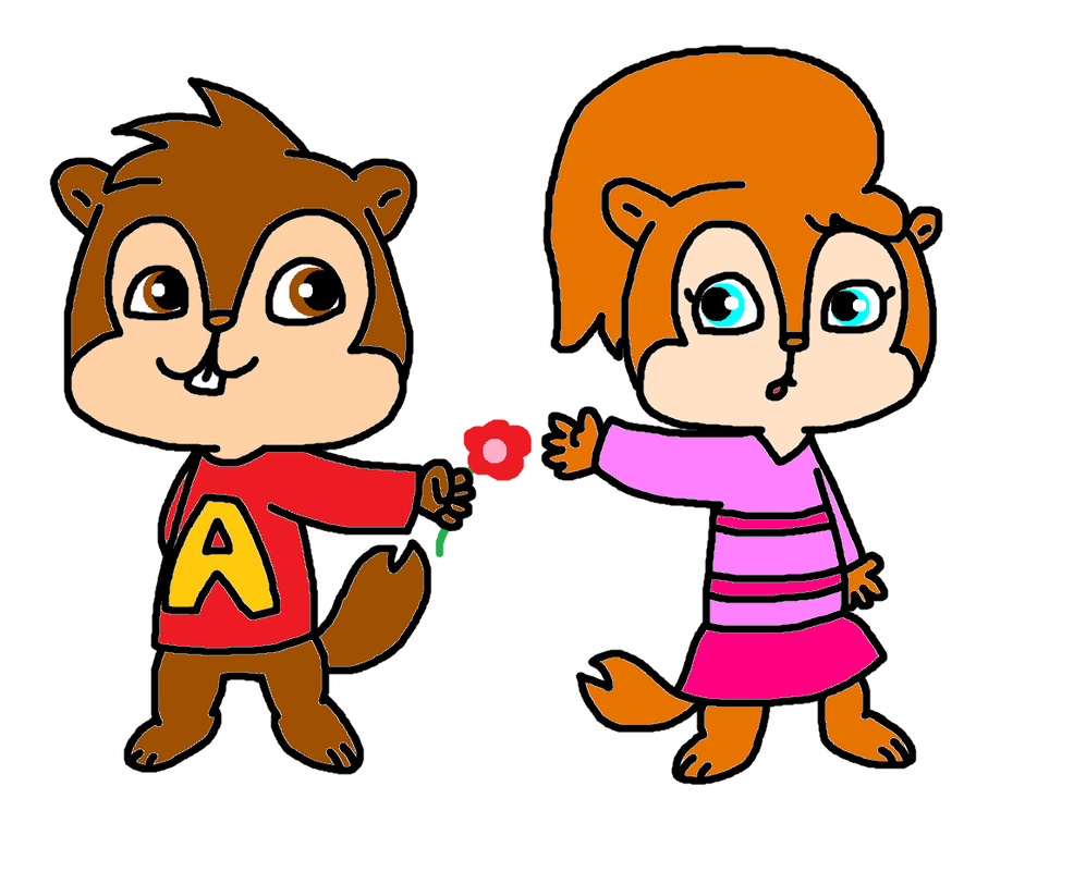 Alvin And Brittany By Bomberdrawer On DeviantArt