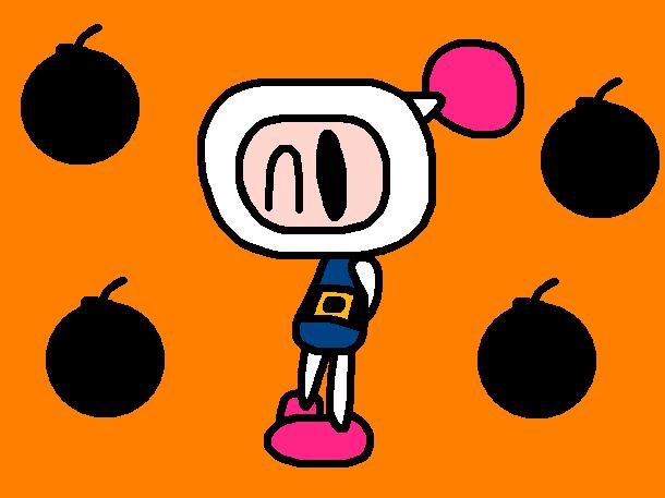 Bomberman 1 by Bomberdrawer