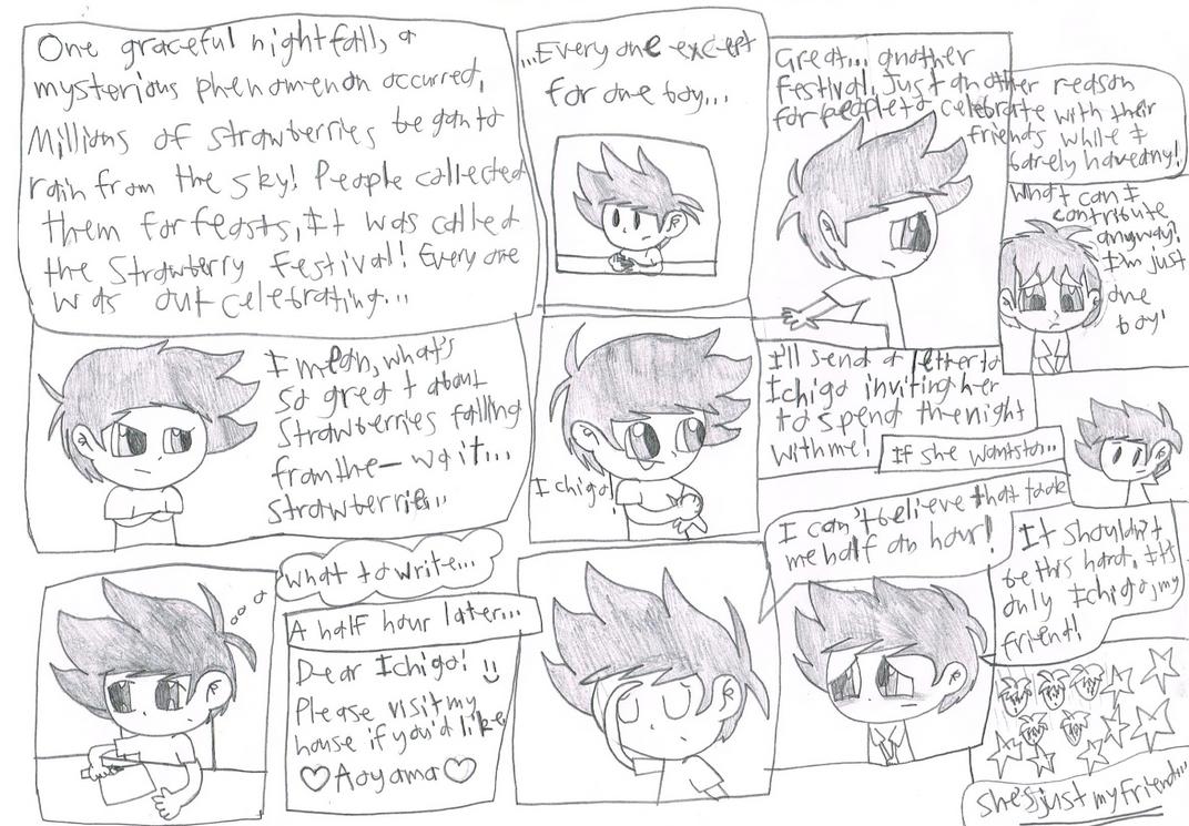 Super Ichigo Galaxy page 1 by Bomberdrawer