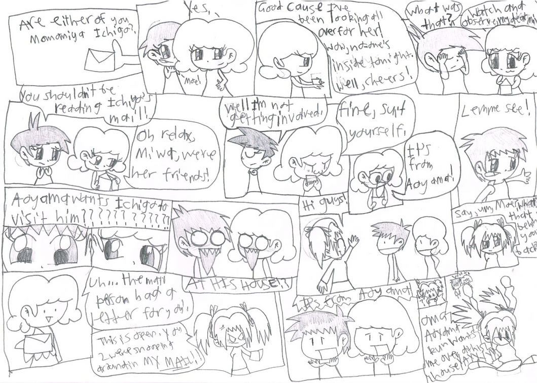 Super Ichigo Galaxy page 2 by Bomberdrawer