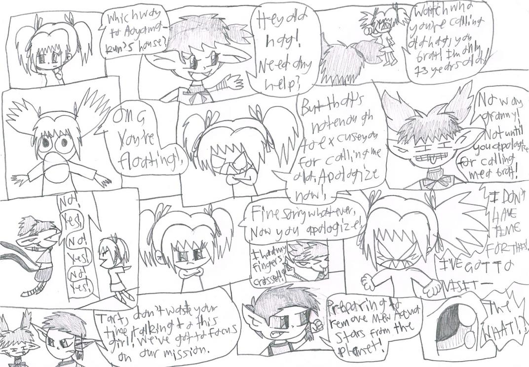 Super Ichigo Galaxy page 4 by Bomberdrawer