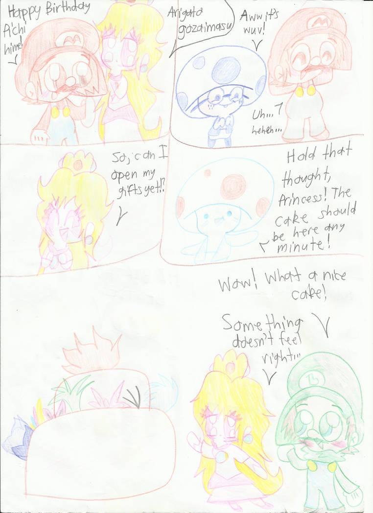 New Super Mario Bros Wii: Page 4 by Bomberdrawer on DeviantArt