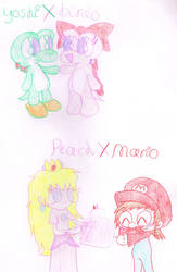 Canon Couples by Bomberdrawer