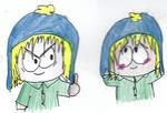 Tweek as Craig by Bomberdrawer