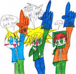 wth Tweek xD by Bomberdrawer
