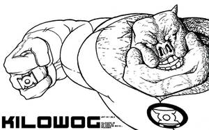 Kilowog Back On Duty