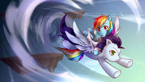 Soarin Meets Rainbow Factory Dash Blue Version