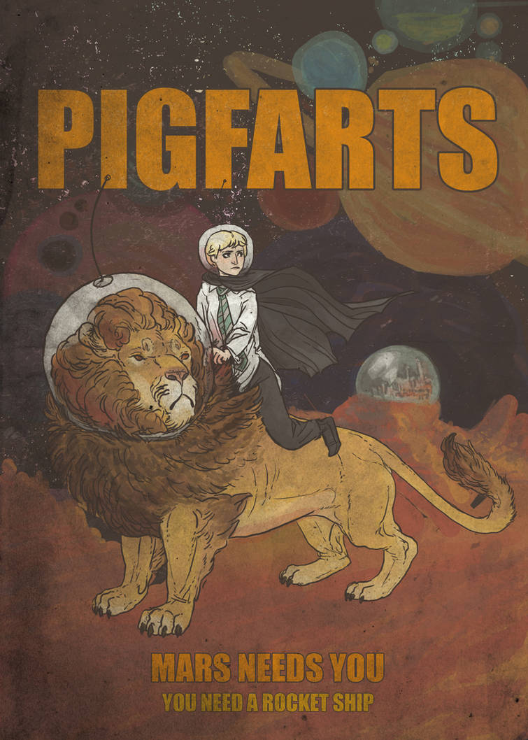 HP: Pigfarts by rachelroach