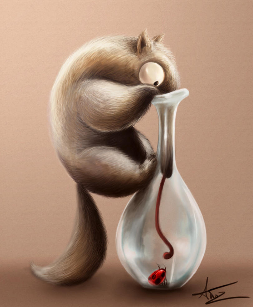 Hard life of an anteater by Anto-Z