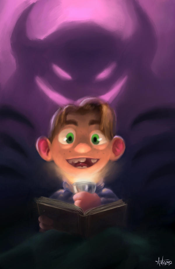 Spooky tales by Anto-Z