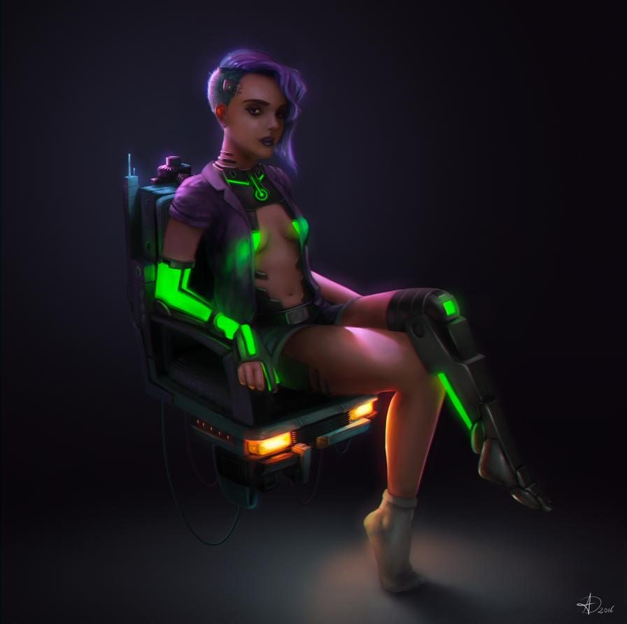 Cybergirl 2.0 by Anto-Z