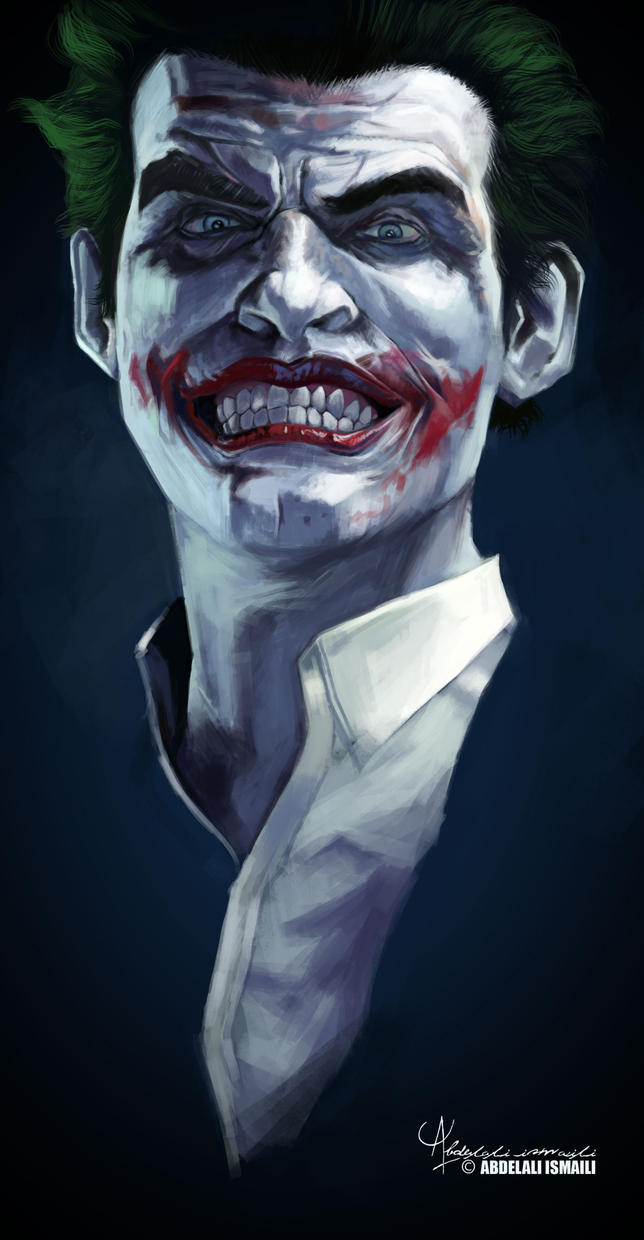 joker arkham by arabdel