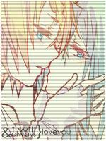 Miku x Rin Vocaloid by ThalitaBLeite