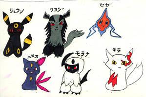 Rail's Pokemon Team