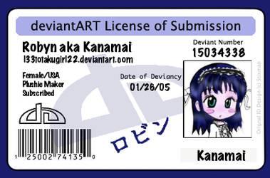 Kanamai's DA License