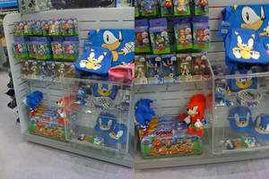 Sonic Merchandise by Epic-D