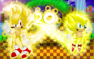 20 Super Sonic Years by Epic-D