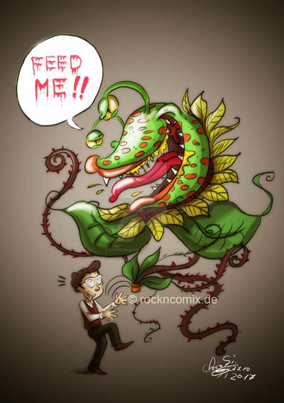 Little Shop Of Horrors by Otto-Chrissi