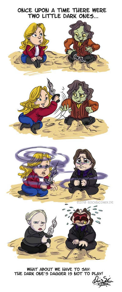 Ouat Two Little Dark Ones