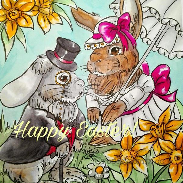 Mr. and Mrs. Rabbit