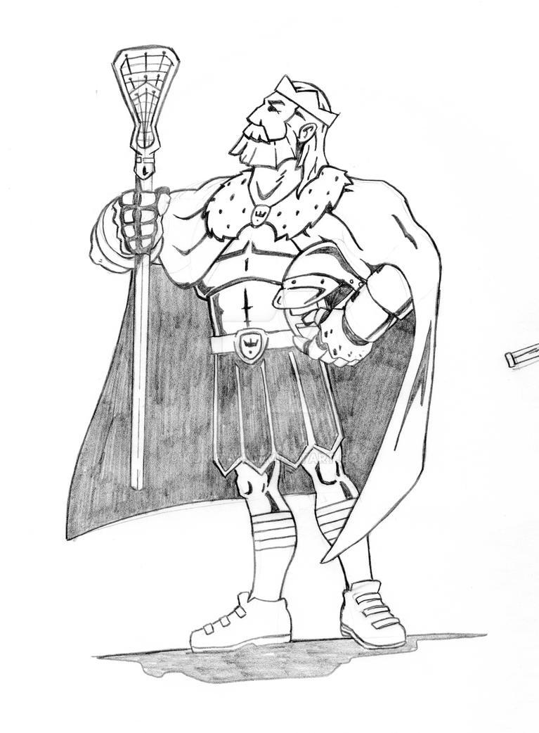 Majestic King Sketch by Kuk-Man