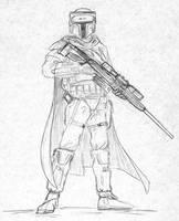 Mandalorian Sniper by Kuk-Man
