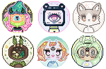 Experimental icons 2-down by Do7anii