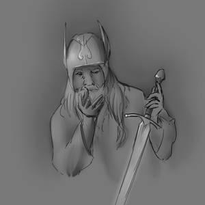 Viking Sketch Skydancer-Stock