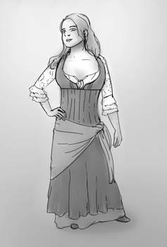 Sketch CuriousCatCosplay