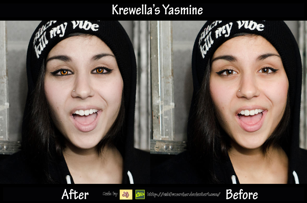 Krewella Yasmine Edit by ashfoweraker on DeviantArt