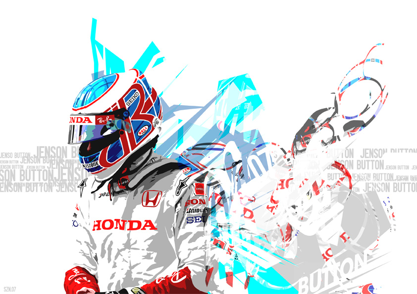 Jenson Button by szndsgn