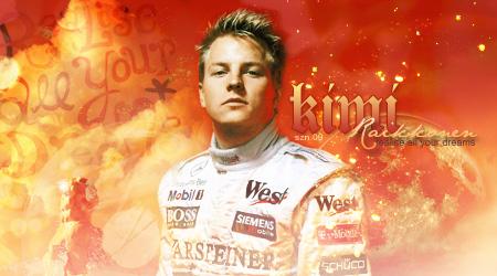 Kimi Raikkonen Banner by szndsgn