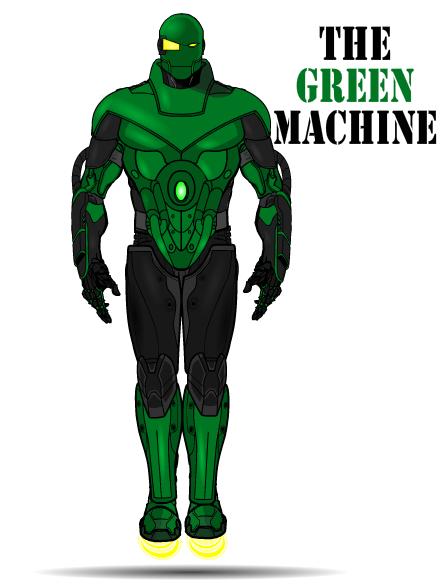The Green Machine by TheAnarchangel on DeviantArt