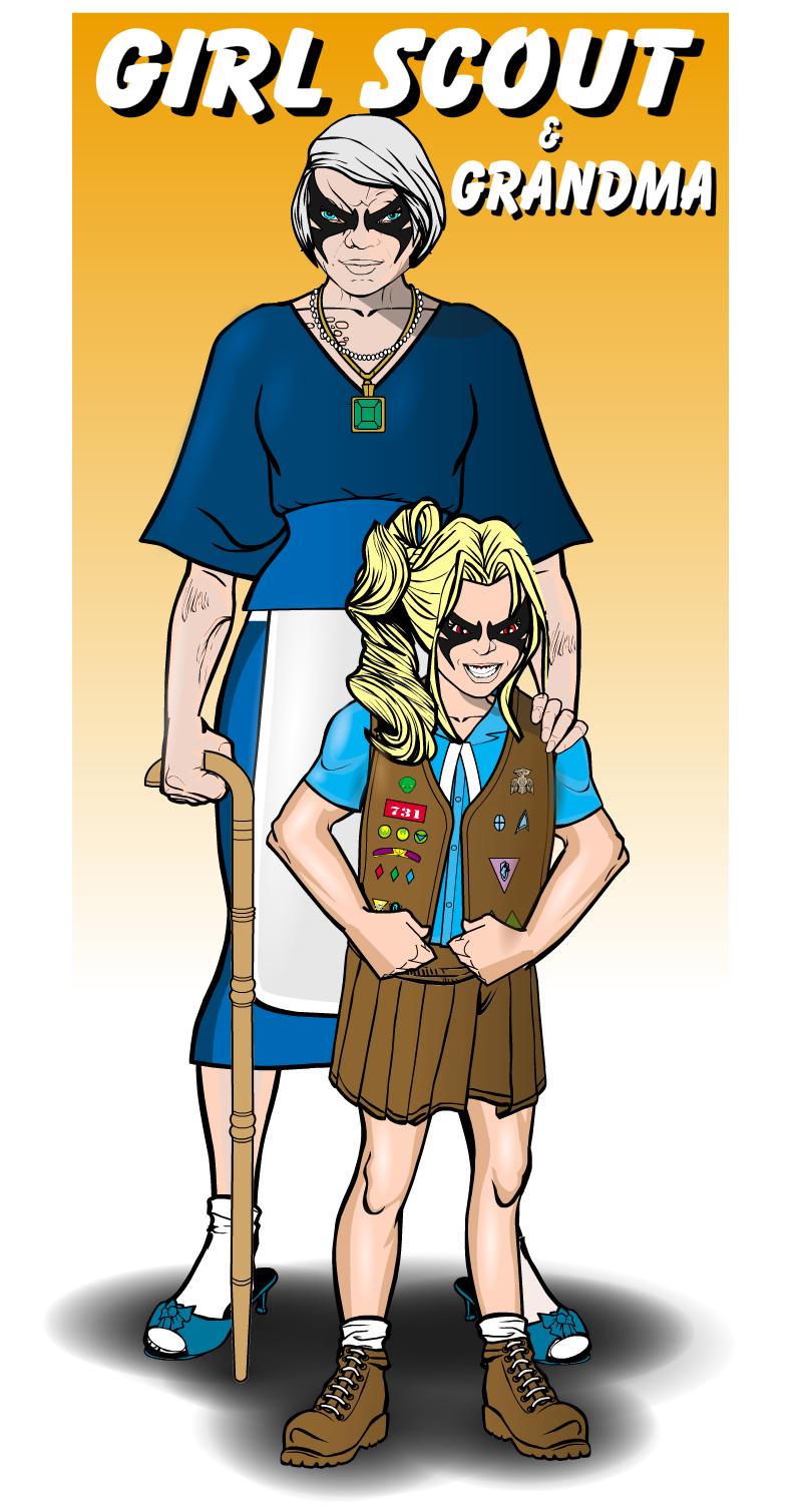 Girl Scout & Grandma