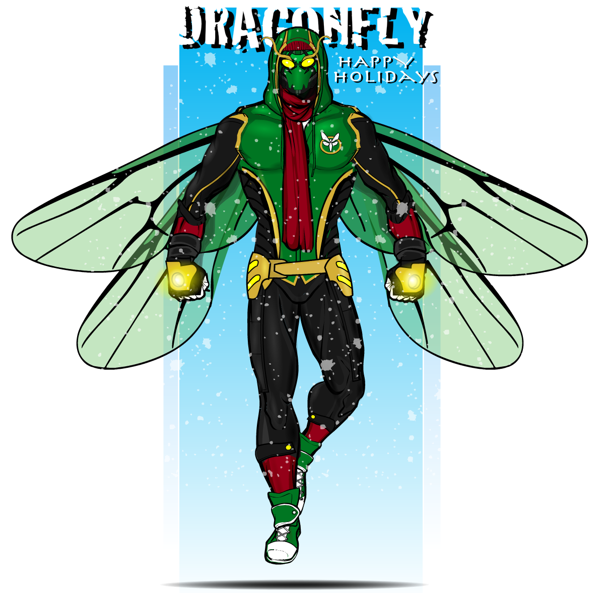 """Have a happy holiday season everyone!!"" - Dragonfly"
