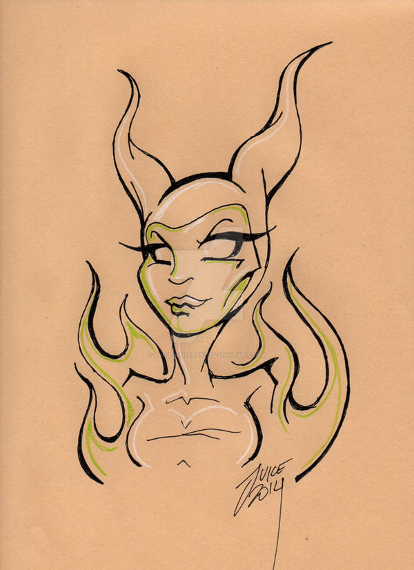 Maleficent by juiceinthedark