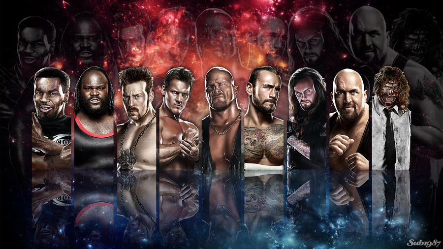 WWE Wallpaper [wwe'13 Roster] By Sub1987thai On DeviantArt