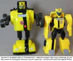 G1-TFA Bumblebee robot