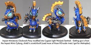 Pony Warmachine: Sentinel by dvandom