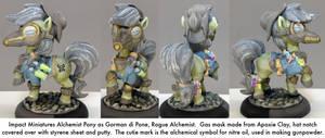 Pony Warmachine: Gorman diPone by dvandom