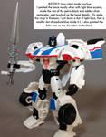 Touchup: PRiD Warrior Jazz robot mode