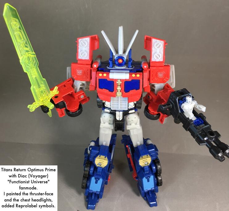 Titans Return Megatron Custom Paint