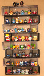 Filled BotBots display rack (Series 1) by dvandom