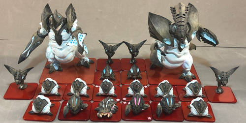 Monsterpocalypse: Planet Eaters group shot by dvandom