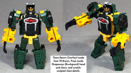 Titans Return Overhaul robot mode