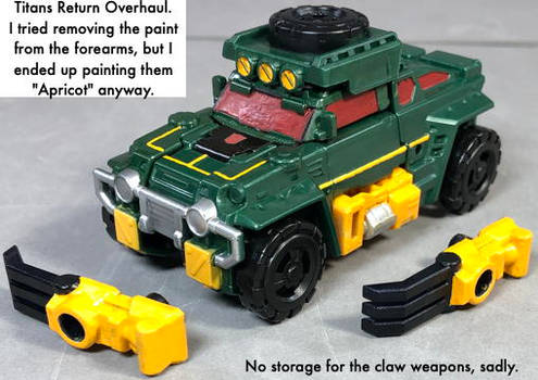 Titans Return Overhaul vehicle mode