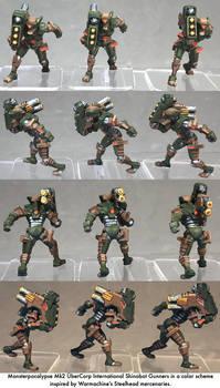 Monsterpocalypse: Shinobot Gunners
