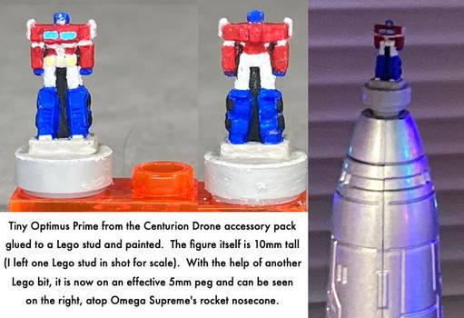 Tiny Optimus Prime